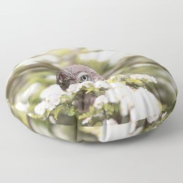 Chouette nature Floor Pillow