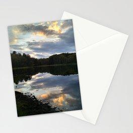 Mill Pond Sunset Stationery Cards