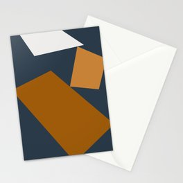 Abstract Geometric 25 Stationery Cards