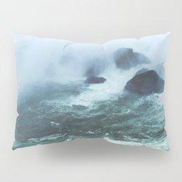 From below where all the water falls, Niagara 03 Pillow Sham