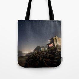 Starry Beach Tote Bag