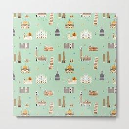 Italy pattern Metal Print