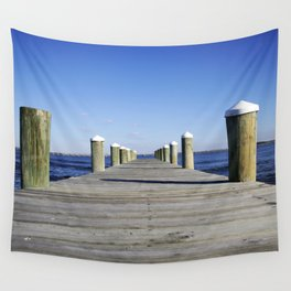 Docks Wall Tapestry