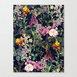 Midnight Forest VII Canvas Print