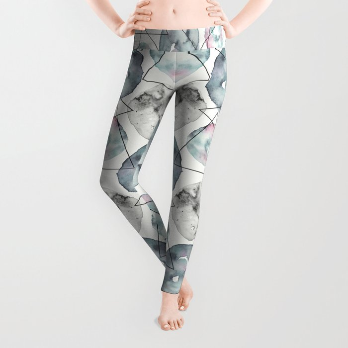 Orbiting Asteroid Pattern Leggings