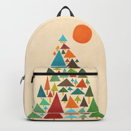 The house at the pine forest Backpack
