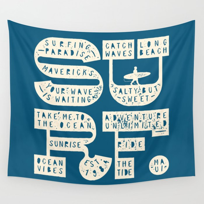 Surf Wall Tapestry