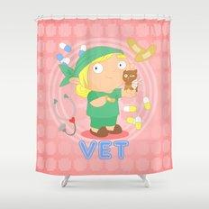 Vet Shower Curtain