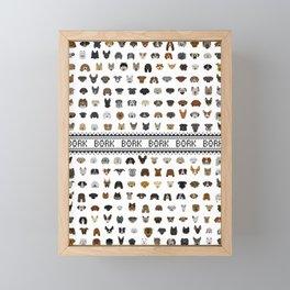 Pixel Pups Framed Mini Art Print