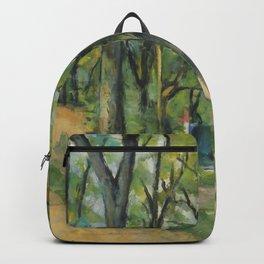 """Paul Cezanne """"The Orchard. La côte Saint-Denis à Pontoise"""" Backpack"""