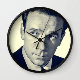 Dane Clark, Vintage Actor Wall Clock