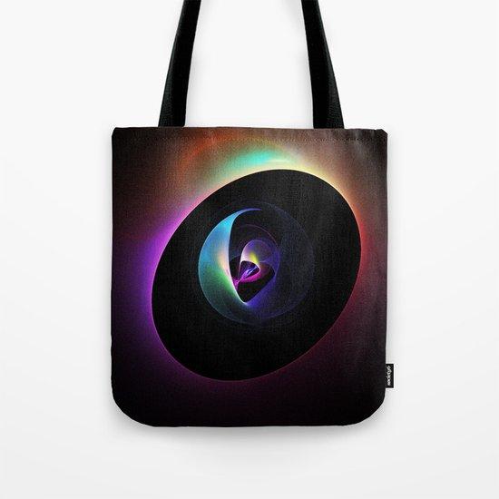 Alien's in Space Capsule Tote Bag