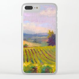 Fruit of the Vine Oregon Vineyard Clear iPhone Case