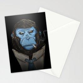 BlueMonkeyinTheSuit Stationery Cards