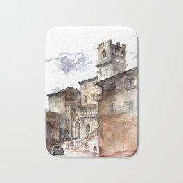 Cortona, Italy Bath Mat