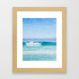 Seascape I Framed Art Print