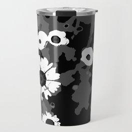 Field Daisy V - Messy Flowers Travel Mug