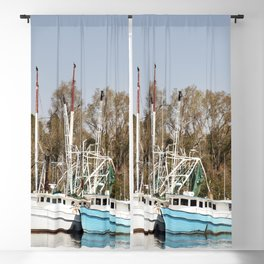 Bayou La Batre is a fishing village with a seafood-processing harbor for fishing boats and shrimp bo Blackout Curtain