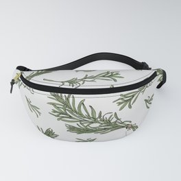 Rosemary rustic pattern Fanny Pack