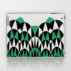 Modern Day Arches Green Laptop & iPad Skin
