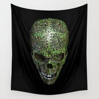 data Wall Tapestries featuring Bad data by GrandeDuc