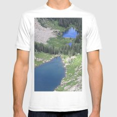 The View Mens Fitted Tee White MEDIUM