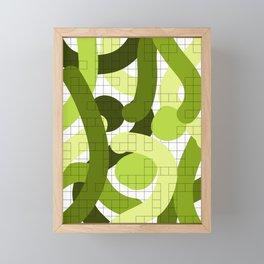 Abstract Admix III Framed Mini Art Print