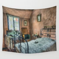victorian Wall Tapestries featuring Victorian Bedroom by Ian Mitchell