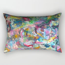 REM white noise Rectangular Pillow
