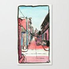 Street of the Cap Canvas Print