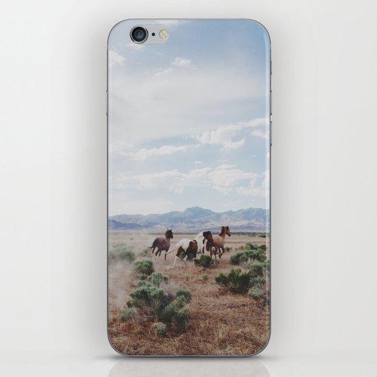 Running Horses iPhone Skin