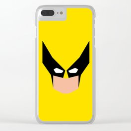 Wolverin e superhero Clear iPhone Case