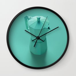 Green dream Wall Clock