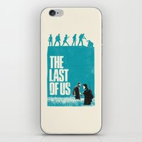 the last of us iPhone & iPod Skins featuring The Last Of Us by Bill Pyle