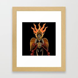 Eternity: Hotaru--Fire Goddess Framed Art Print