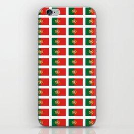 flag of portugal 2 -Portuguese,mirandese,Portugués,lisbon,porto. iPhone Skin