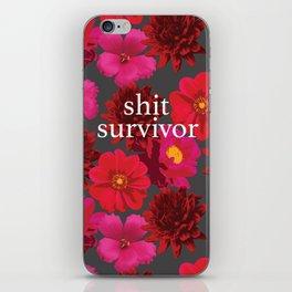 survivor iPhone Skin