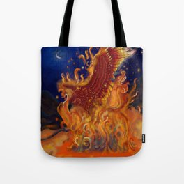 Forged in Fire Tote Bag
