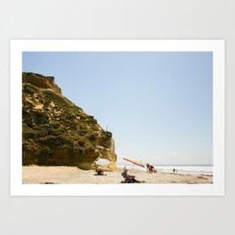 Solana Beach, Midday Art Print