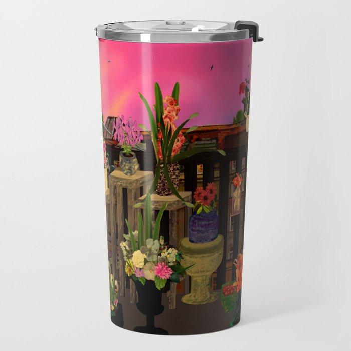 Colour me balcony Travel Mug