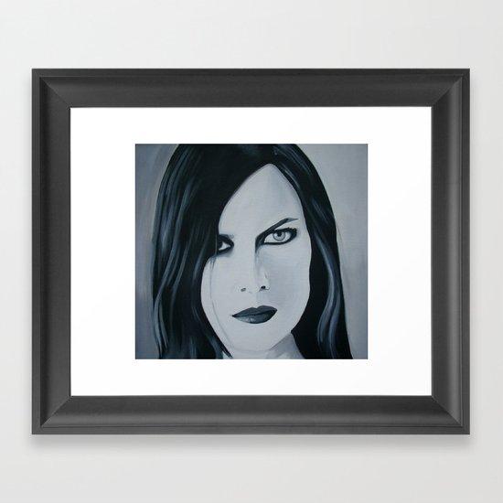 Juliana Muse Framed Art Print