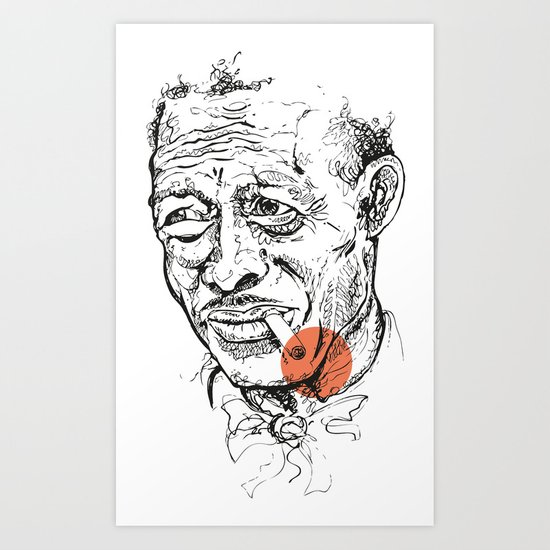 Son House - Get your clap! Art Print