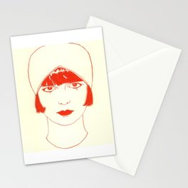 Pandora in Rouge Stationery Cards