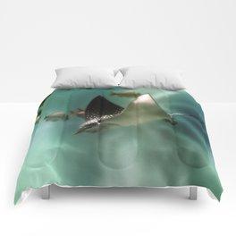 Majestic Flight of the Stingray Comforters
