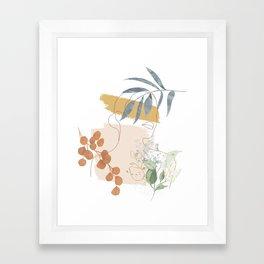 Line in Nature II Framed Art Print
