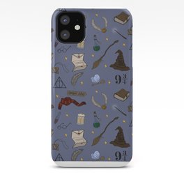 Wizard School Pattern iPhone Case