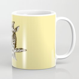 Plane in the neck Coffee Mug