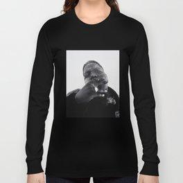 Notorious B.I.G print Langarmshirt