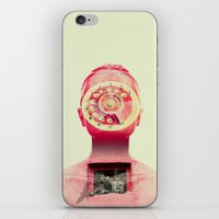 chill iPhone & iPod Skins featuring Chill by Pame Pinto Rojas
