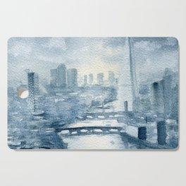 Thames and Shard Cutting Board